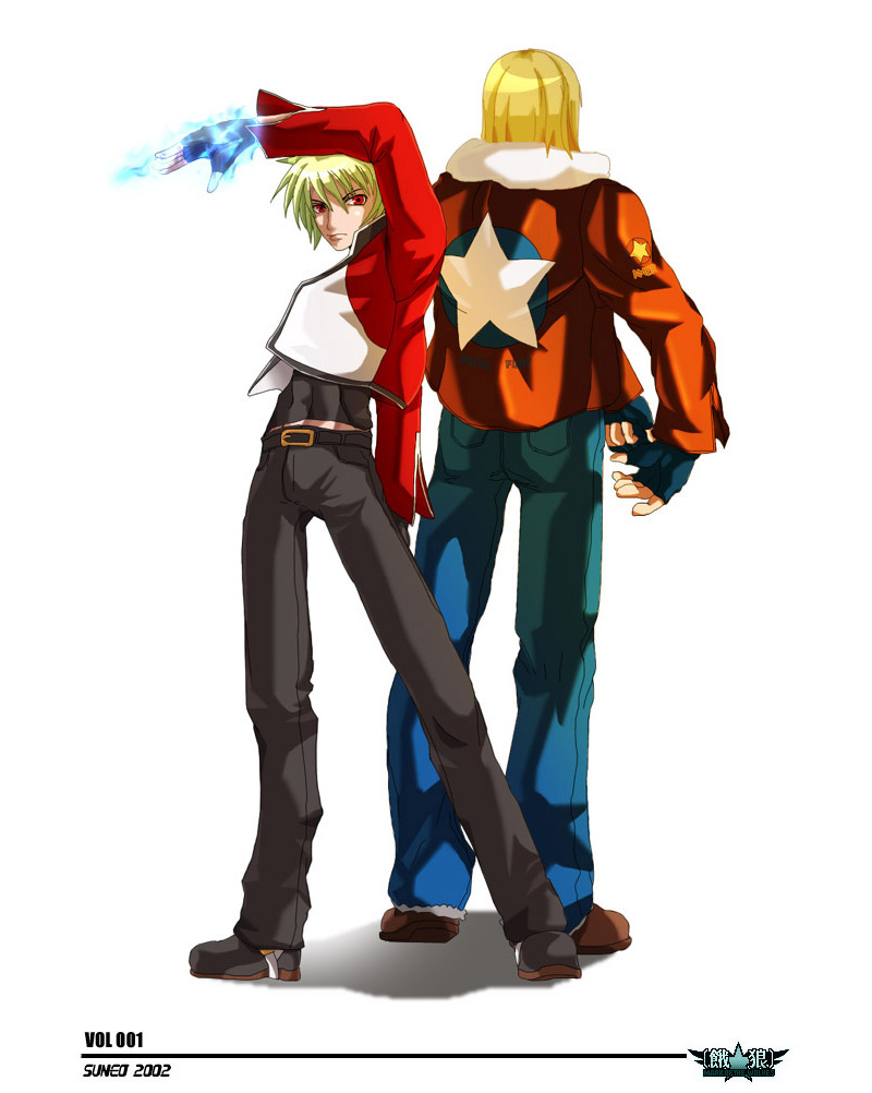 Terry Bogard And Rock Howard Son of geese howard, raised by terry bogard after he had killed geese. terry bogard buster wolf